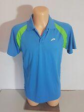 ACTIVE  Herren  Shirt Sportshirt Sportoberteil  Gr. S blau Poloshirt Kurzarm NEU