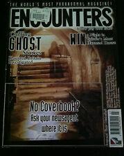Encounters MAGAZINE #9 July 1996 Ghost Stories, UFO Sightings, Pyschic * RARE*