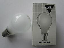 Ring Ampoule 25W 240V Mat Pearl B22 Socle 5050044490539