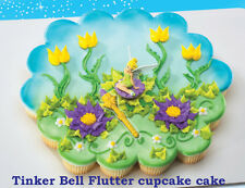 TINKERBELL CAKE Cupcake Party Birthday Decoration Peter Pan Supplies Fairies Kid