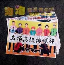 Haikyuu!! High Kyuu!! Shoyo Hinata Syouyou Poster Wall Poster 8 Piece Wallpaper