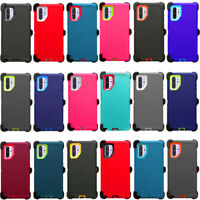 For Samsung Galaxy Note 10 /Note 10+ Plus Defender Case Belt Clip Fits Otterbox