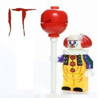 Pennywise IT 1990 Horror Custom Minifig Mini Figure Minifigure 182