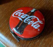 Vintage Limoges Box Coca Cola Rare Collectible France 1998 62/1000 Coke Bottle
