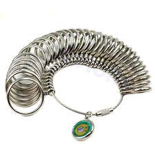 2016 New Standard Jewelry Tool Size Finger Ring 1-33 Sizer Measure Gauge Metal