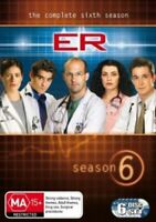 ER The Complete Season 6 DVD 6 Disc Set NEW + SEALED R4 (Aus Seller)