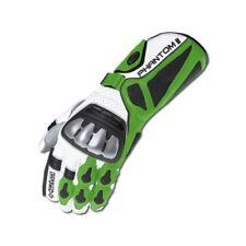 Held Phantom 2 Handschuh Gr 9,5 Sport Racing Leder Handschuhe weiss grün