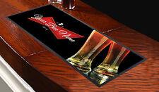 Personalised Red Label Beer Glasses Background Bar Runner Ideal For Pub Bar