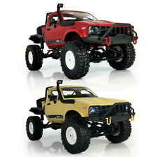 WPL 1:16 2.4G RC Crawler Military Truck Assemble Kits Remote Control Vehicle Toy