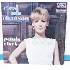 """33T Petula CLARK Disque Vinyle LP 12"""" C'EST MA CHANSON - VOGUE 706 30"""