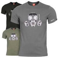 Pentagon Mask Mens Tactical Military Army Airsoft Helmet Graphic Cotton T-Shirt