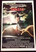 "Dracula (27"" x 41"") Original One Sheet Movie Poster Style B 1979 Bundle"