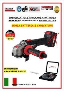 SMERIGLIATRICE ANGOLRE PARKSIDE PWS 125 D3 USATA