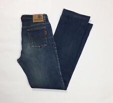 Americanino jeans donna vintage w30 tg 44 usato denim blu straight stretch T3006