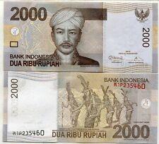 INDONESIA 2000 2,000 RUPIAH 2012/2009 P 148 UNC LOT 10 PCS