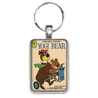 Yogi Bear November Cover Key Ring or Necklace BooBoo Bear Vintage Comic Book