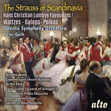 CD THE STRAUSS OF SCANDINAVIA LUMBYE WALTZES POLKAS GALOPS COPENHAGEN STEAM etc