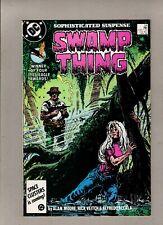 Swamp Thing #54_November 1986_Very Fine+_Batman_Alan Moore_Classic Dc Horror!