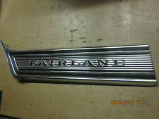 1967 FORD FAIRLANE L.H. FRONT NAME PLATE MOULDING