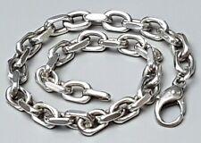 Massiv gearbeitetes Design-Ankerketten Armband 925 SHB punziert 24,5 cm / A 653