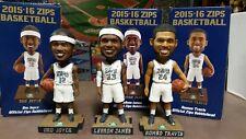 Lebron James Romeo Travis & Dru Joyce Akron Zips Bobbleheads Cleveland Lakers