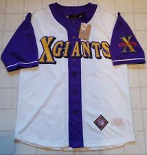 NWT AUTHENTIC LARGE NEGRO BASEBALL LEAGUE JERSEY CUBAN X GIANTS STITCHED MUSEUM