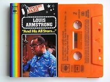 LOUIS ARMSTRONG AND HIS ALL STARTS . TAPE . CASSETTE AUDIO . K7