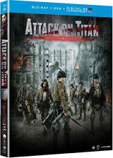 Attack on Titan the Movie: Part 2 [New Blu-ray] With DVD, UV/HD Digita