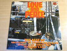 Love And Peace/1970 Somerset Double LP/Thrice Mice/Tomorrows Gift/German Issue