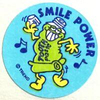 Dated 1982 - Grape #1 Vintage MATTE Scratch /& Sniff Stickers ET E.T