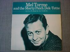 LP-Mel Torme and The Marty Paich Dek-Tette-Lulu's Back in Town(1982)AFF 85