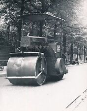 PARIS c. 1950 - Rouleau Compresseur Cylindre à Vapeur - DIV705