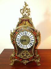 Große Uhr in der Boulle Art  8-Tage-Werk Franz Hermle & Sohn Gosheim