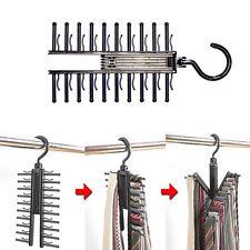 Men Necktie Adjustable Plastic Hanger Multifunction Clothes Rack Home DIY