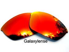 Galaxis Ersatzgläser für OAKLEY HALF JACKET 2.0 Sonnenbrille rot POLARISIEREND