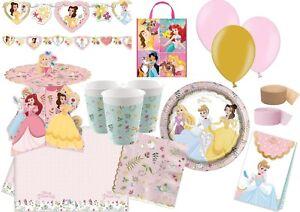 Disney TRUE Princess Birthday Party Tableware Decorations Plates Banner Balloons