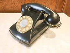Mybelle Classic 873 Press Button black retro style telephone
