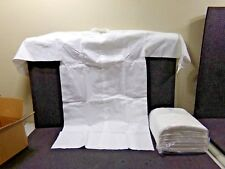 SFS Disposable Lab Coat, White, XL, 10/Case