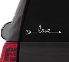 H147 LOVE ARROW FARMHOUSE VINTAGE SIGN DECAL SURFACE CAR TRUCK SUV LAPTOP