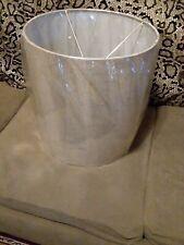 Mix & Match Large 15-Inch Burlap/Natural  Lamp Shade