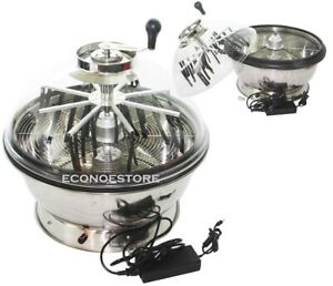 """24"""" Hydroponic Spin Bowl Trimmer Electric Hand Spin Reaper Wet Dry Bud Trim"""