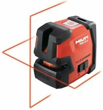 HILTI PM 2-L LINE LASER - SELF-LEVELING LASER LEVEL - NEW #2047044
