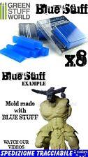Materiale BLUE STUFF (8 pezzi) per Stampi Riutilizzabili - Resina Rubaforma