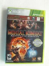 Mortal Kombat Komplete Edition For Xbox 360 Video Game 4 Additional Characters