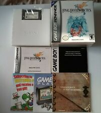 Final Fantasy Tactics Advance Nintendo Game Boy Advance Complete in Box Manual