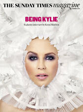 Kylie Minogue The Sunday Times UK Cover Magazine - Exclusive Interview