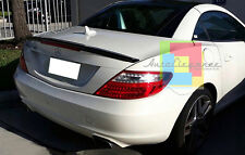 SPOILER POSTERIORE MERCEDES BENZ SLK R172 2011+ SPOILER SUL COFANO LOOK AMG