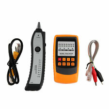 Cable Tester Tracker Phone Line Network Finder Rj11 Rj45 Wire Tracer O1
