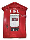 Vintage Original Gamewell Fire Alarm Box, Newton Mass.-Complete With Key # 213