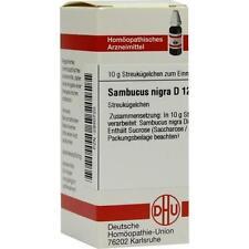 SAMBUCUS NIGRA D 12 Globuli 10g PZN 2930720